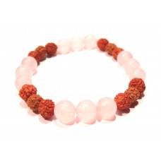 NÁRAMEK RUDRAKSHA & ROSE MINERAL LIGHT